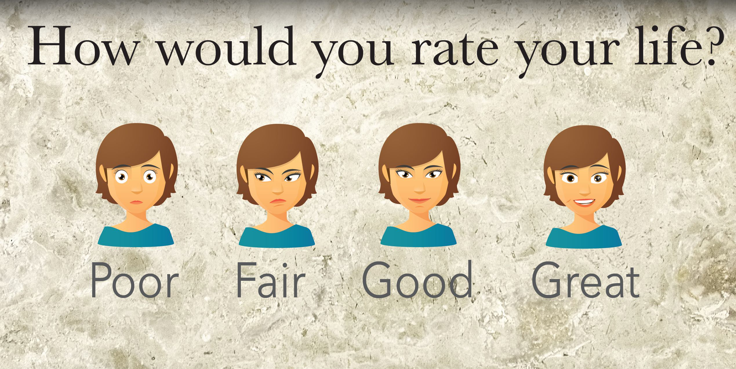 How would you rate your life?